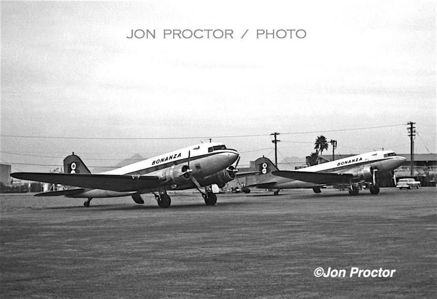 DC-3s PHX 12:7:59 Bob Proctor