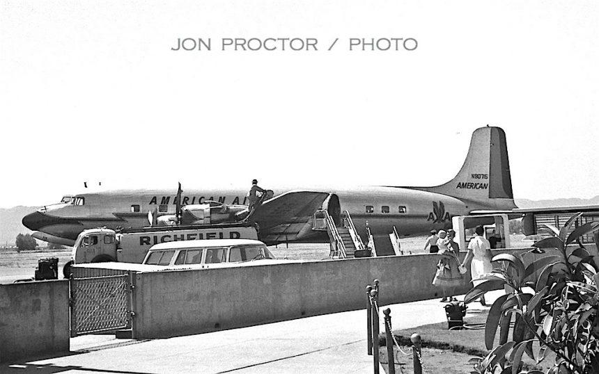 DC-6 N90715 PHX 8:31:59