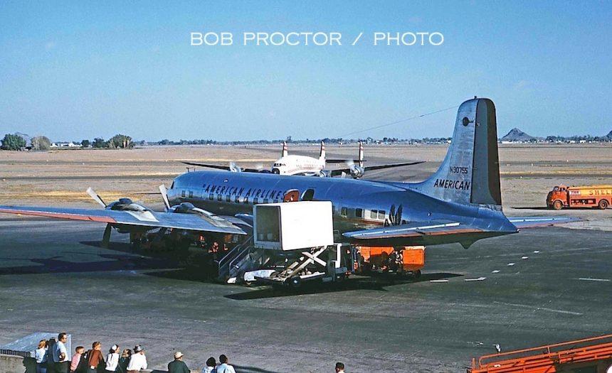 DC-6B N90755 PHX 10:10:59 Bob Proctor 2