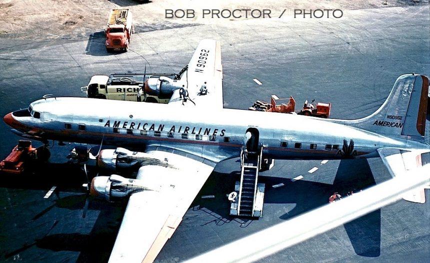 DC-6B N90962 PHX 7:60 Bob Proctor-6994446 2