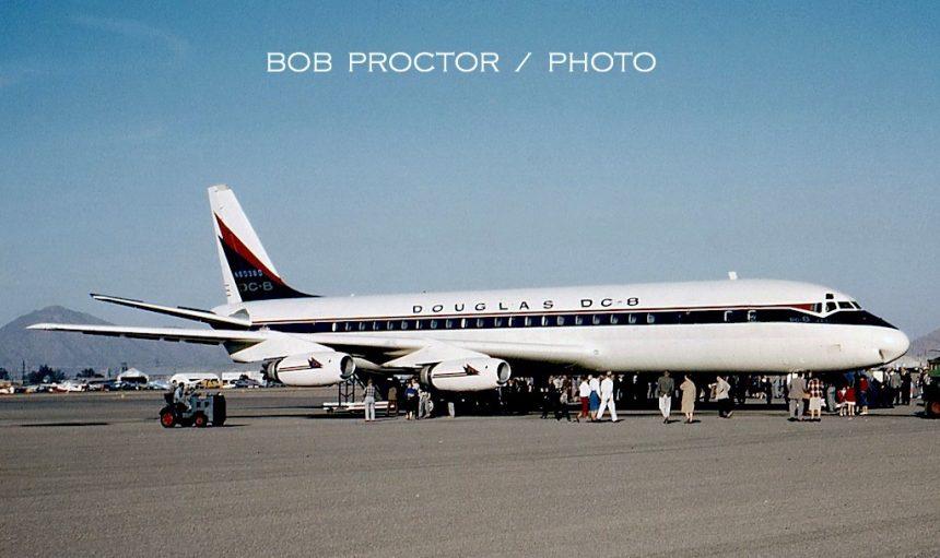 DC-8-11 N8038D PHX 1959 Bob Proctor