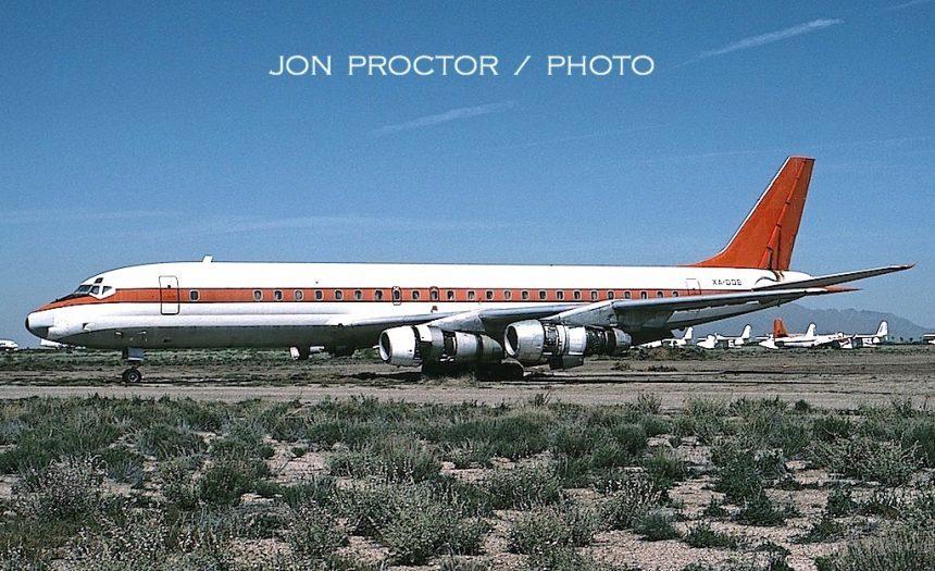 DC-8-51 XA-DOE MZJ 3:23:90