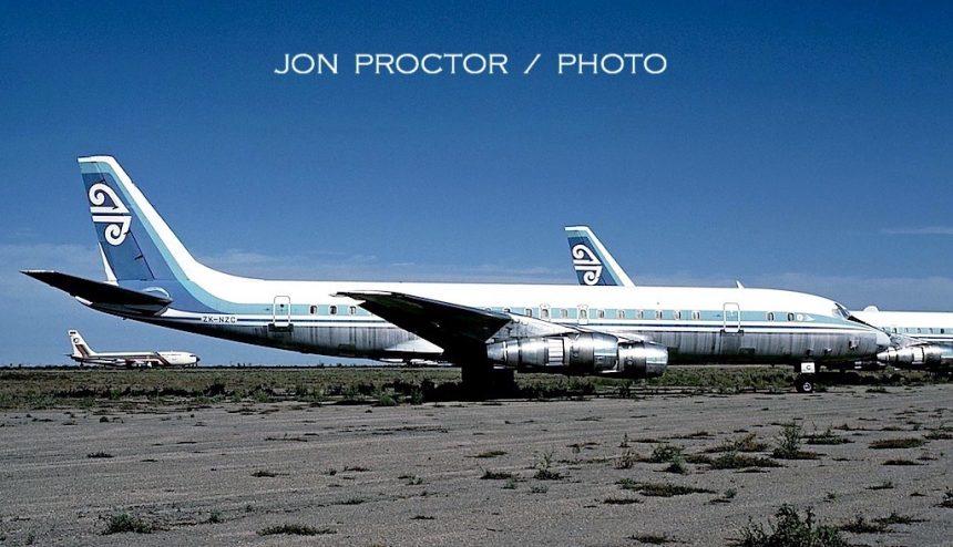 DC-8-51 ZK-NZC MZJ 3:19:87