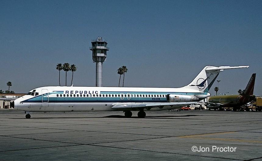 DC-9-31 N940N PHX 6:1:84
