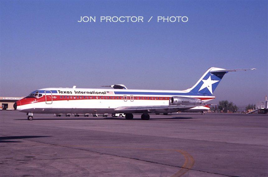 DC-9-32 N3504T ABQ 9:20:79