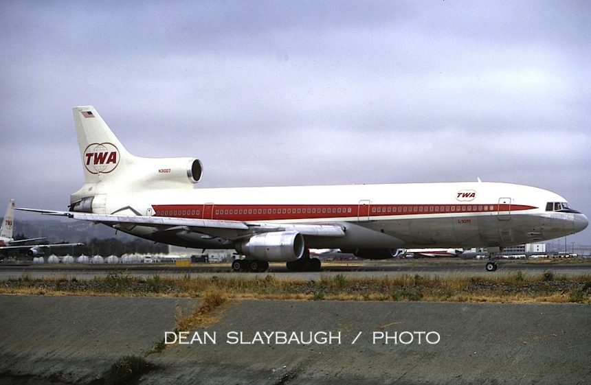 L-1011 N31007 SFO 5:73 Dean Slaybaugh