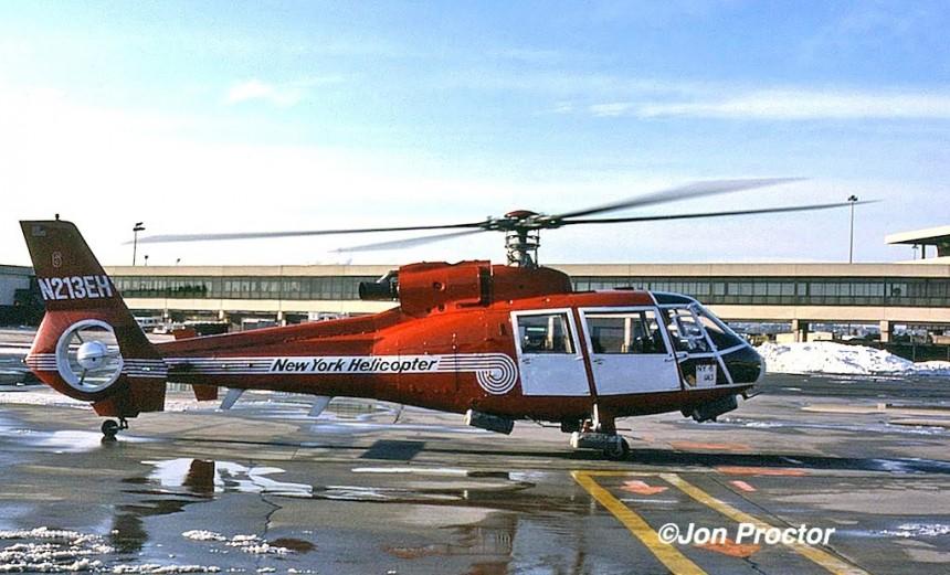 Aerospatiale Dauphin SA360C N213EH EWR 02-12-1986