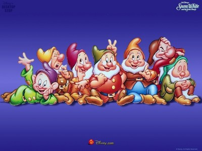 Those Disney dwarfs; can you name all seven?