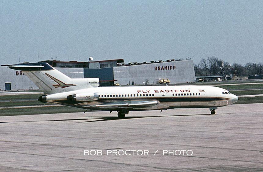 727-25 N8107N DAL 3:22:64 Bob Proctor