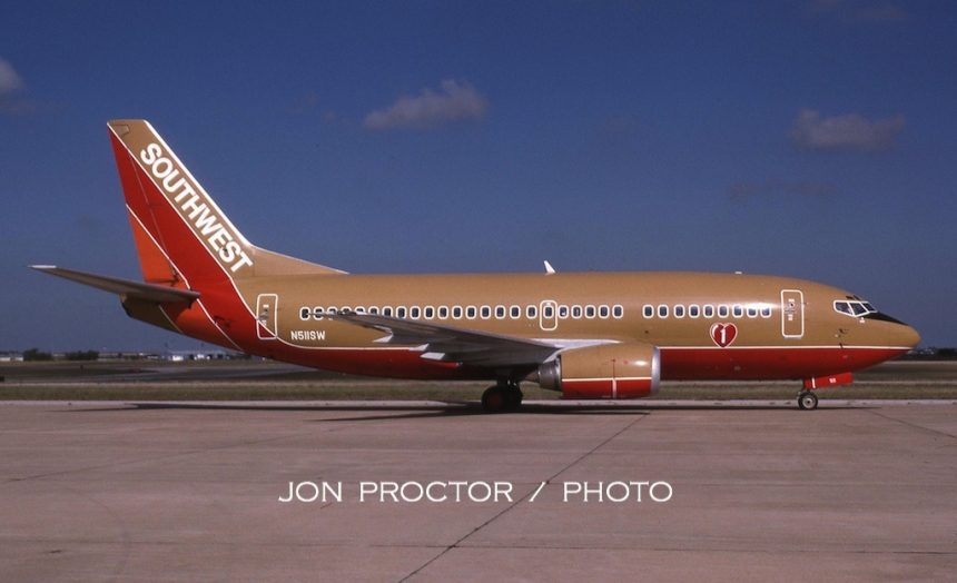 737-5H4 N511SW AMA 9:11:94-H