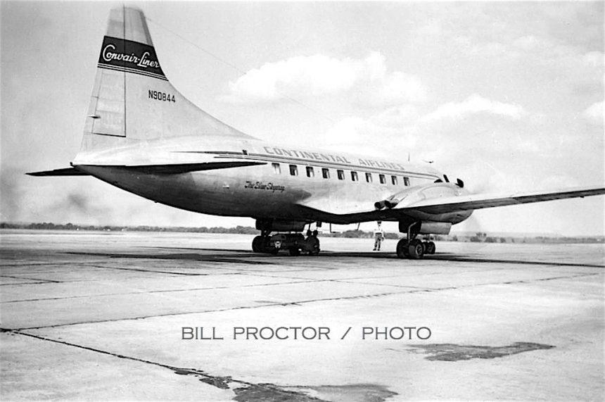 CV-240 N90844 TUL Bill Proctor