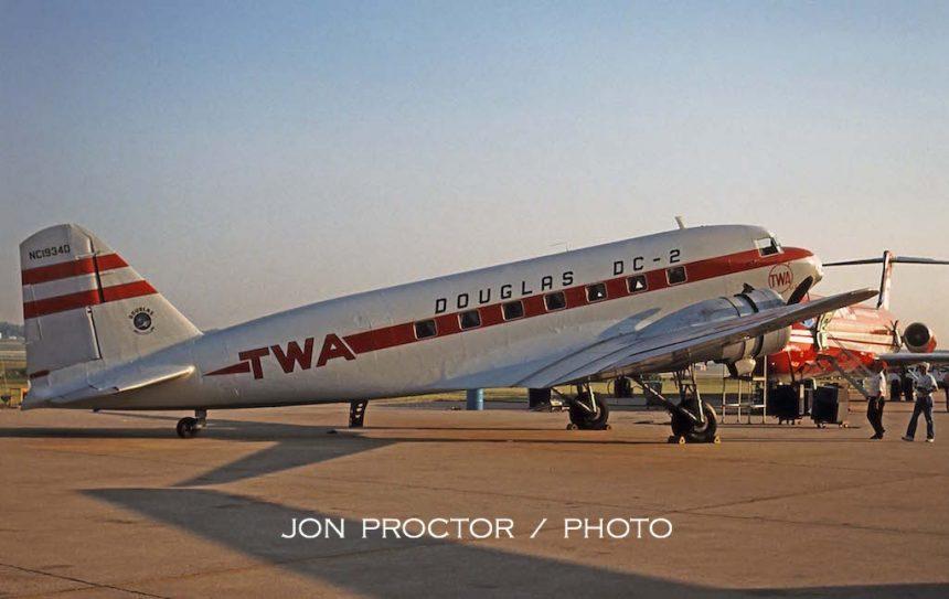 DC-2 N1934D STL 9:10:94