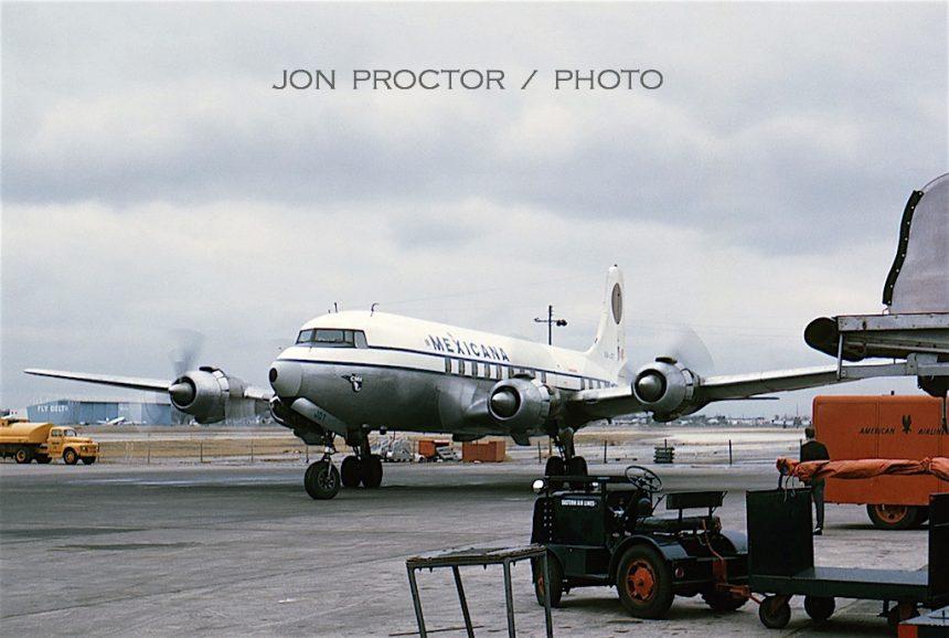 DC-6 XA-JOT DAL 12:29:62-6986500