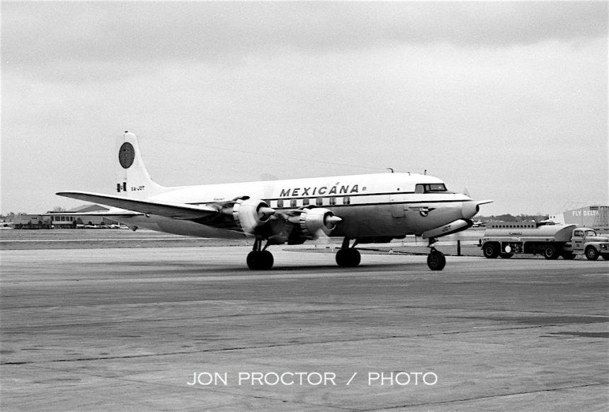 DC-6 XA-JOT DAL 12:29:62-7385909