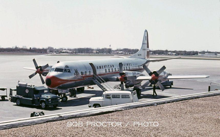 L188 N6129A DAL 03-1964 Bob Proctor